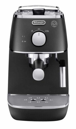 delonghi eci 341 bk distinta elegance siebtr ger espressomaschine black portofrei bei b cher. Black Bedroom Furniture Sets. Home Design Ideas
