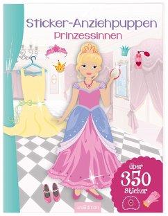 9783845815640 - Sticker-Anziehpuppen - Prinzessinnen - Livre
