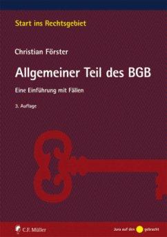 Allgemeiner Teil des BGB - Förster, Christian
