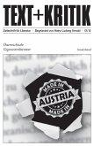 TEXT+KRITIK Sonderband - Österreichische Gegenwartsliteratur (eBook, ePUB)