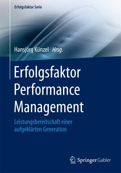 Erfolgsfaktor Performance Management (eBook, PDF)