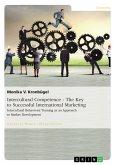 Intercultural Competence - The Key to Successful International Marketing (eBook, PDF)