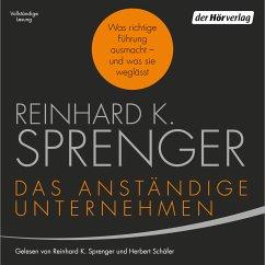 Das anständige Unternehmen (MP3-Download) - Sprenger, Reinhard K.