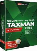 Taxman 2016 für Vermieter (Version 22.00) für die Steuererklärung 2015