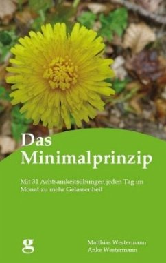 Das Minimalprinzip - Westermann, Anke; Westermann, Matthias