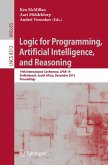 Logic for Programming, Artificial Intelligence, and Reasoning (eBook, PDF)