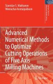 Advanced Numerical Methods to Optimize Cutting Operations of Five-Axis Milling Machines (eBook, PDF)