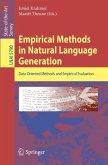 Empirical Methods in Natural Language Generation (eBook, PDF)