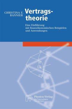 Vertragstheorie (eBook, PDF) - Bannier, Christina E.