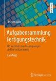 Aufgabensammlung Fertigungstechnik (eBook, PDF)