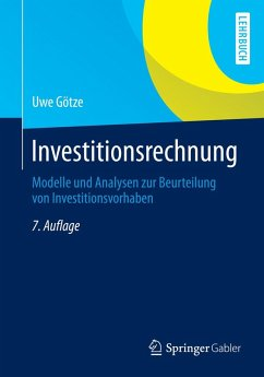 Investitionsrechnung (eBook, PDF) - Götze, Uwe