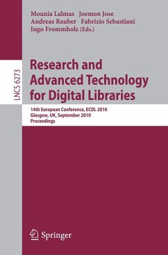 Research and Advanced Technology for Digital Libraries (eBook, PDF)