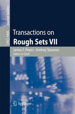 Transactions on Rough Sets VII (eBook, PDF)