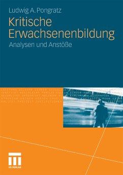 Kritische Erwachsenenbildung (eBook, PDF) - Pongratz, Ludwig A.