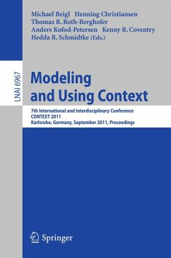 Modeling and Using Context (eBook, PDF)