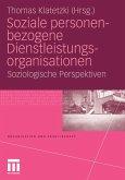 Soziale personenbezogene Dienstleistungsorganisationen (eBook, PDF)