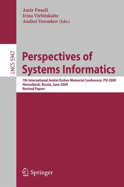 Perspectives of Systems Informatics (eBook, PDF)