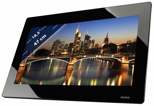 hama 185phd premium hd hdmi 47 cm 18 5 zoll bilderrahmen 4gb speicher portofrei. Black Bedroom Furniture Sets. Home Design Ideas