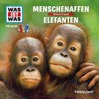 WAS IST WAS Hörspiel: Menschenaffen/ Elefanten (MP3-Download)