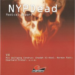 NYPDead - Medical Report, Folge 5: VX (MP3-Download)