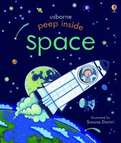 Peep Inside: Space - Milbourne, Anna
