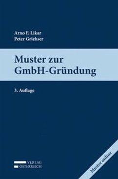 Muster zur GmbH-Gründung