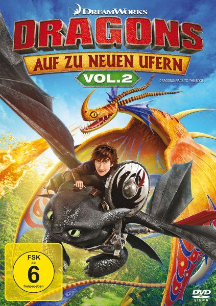 dragons auf zu neuen ufern vol 2 film auf dvd. Black Bedroom Furniture Sets. Home Design Ideas