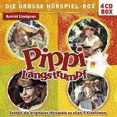 Pippi Langstrumpf - Die große Hörspiel-Box, 4 Audio-CDs