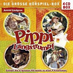 Pippi Langstrumpf - Die große Hörspiel-Box, 4 Audio-CDs - Lindgren, Astrid