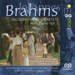 Weltliche Vokalquartette Mit Klavier Vol.2 - Norddeutscher Figuralchor/Straube,Jörg