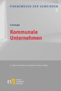 Kommunale Unternehmen - Cronauge, Ulrich