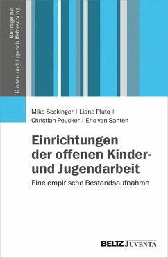 Einrichtungen der offenen Kinder- und Jugendarbeit (eBook, PDF) - Seckinger, Mike; Peucker, Christian; Santen, Eric van; Pluto, Liane