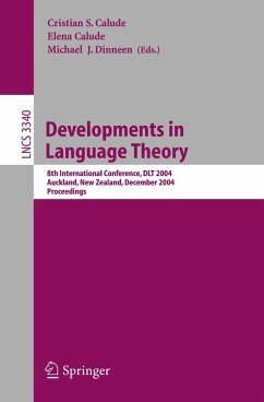 Developments in Language Theory (eBook, PDF)