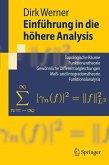 Einführung in die höhere Analysis (eBook, PDF)