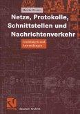 Netze, Protokolle, Schnittstellen und Nachrichtenverkehr (eBook, PDF)
