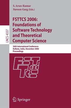 FSTTCS 2006: Foundations of Software Technology and Theoretical Computer Science (eBook, PDF)