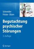 Begutachtung psychischer Störungen (eBook, PDF)