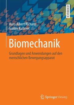 Biomechanik (eBook, PDF) - Richard, Hans Albert; Kullmer, Gunter