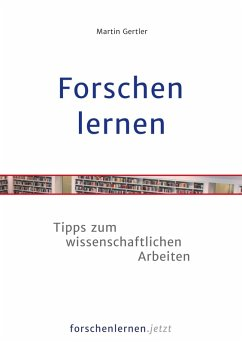 Forschen lernen (eBook, ePUB) - Gertler, Martin