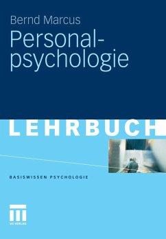 Personalpsychologie (eBook, PDF) - Marcus, Bernd