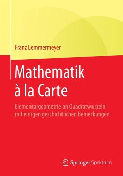 Mathematik à la Carte (eBook, PDF) - Lemmermeyer, Franz
