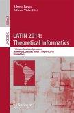 LATIN 2014: Theoretical Informatics (eBook, PDF)