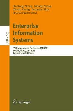 Enterprise Information Systems (eBook, PDF)
