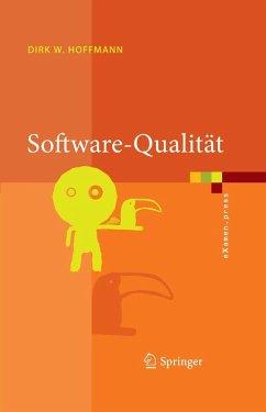 Software-Qualität (eBook, PDF) - Hoffmann, Dirk W.