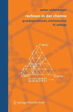 Rechnen in der Chemie (eBook, PDF) - Wittenberger, Walter