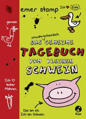 Buch-Reihe Tagebuch vom kleinen Schwein von Emer Stamp