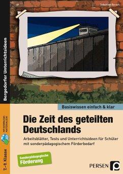 Zeit des geteilten Deutschlands - einfach & klar - Barsch, Sebastian