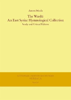The Warda: An East Syriac Hymnological Collection - Pritula, Anton