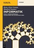 Grundlagen der Informatik 1. Programmierung, Algorithmen und Datenstrukturen