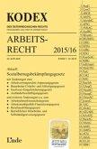KODEX Arbeitsrecht 2015/16 (f. Österreich)
